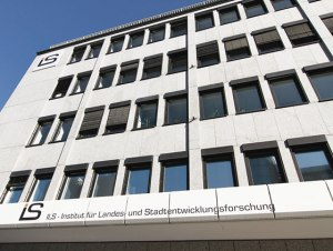Gebäude des ILS in Dortmund