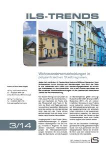 Titelblatt der ILS-Trends 3/14